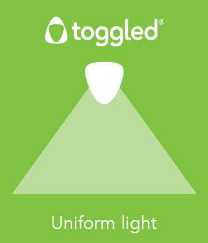 toggled Uniform light